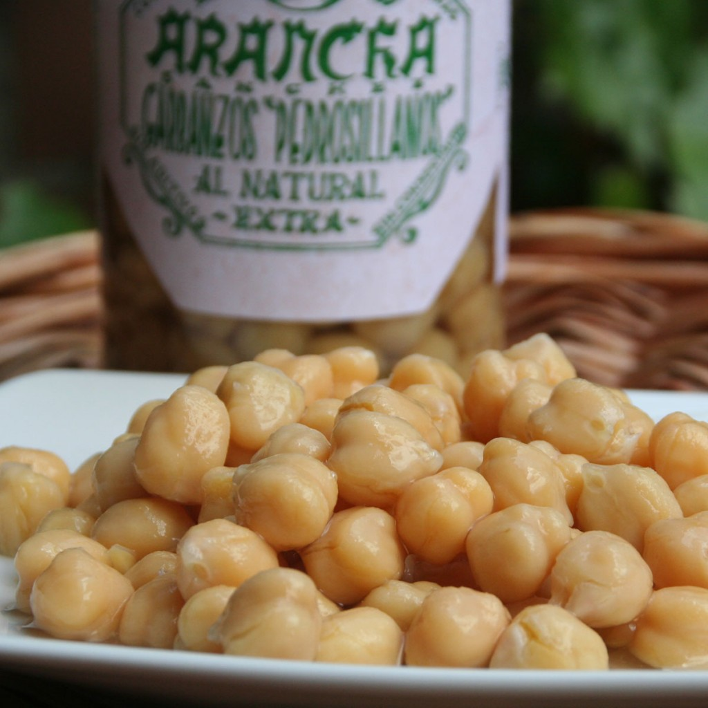 Garbanzos Pedrosillanos Al Natural Arancha