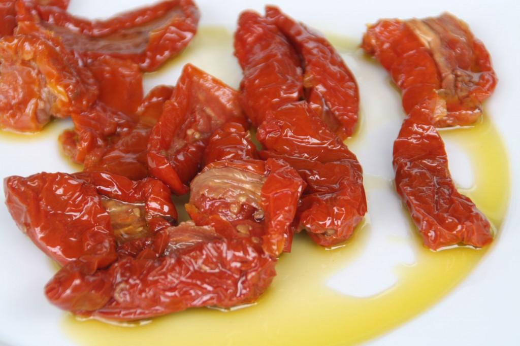 Los tomatitos Secos Deshidratdos en Aceite de Oliva Arancha... una delicia !!