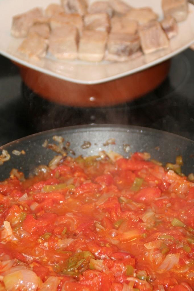 la salsa cocinandose despacito...