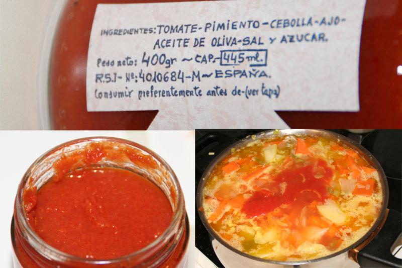 Ponemos el tomate...