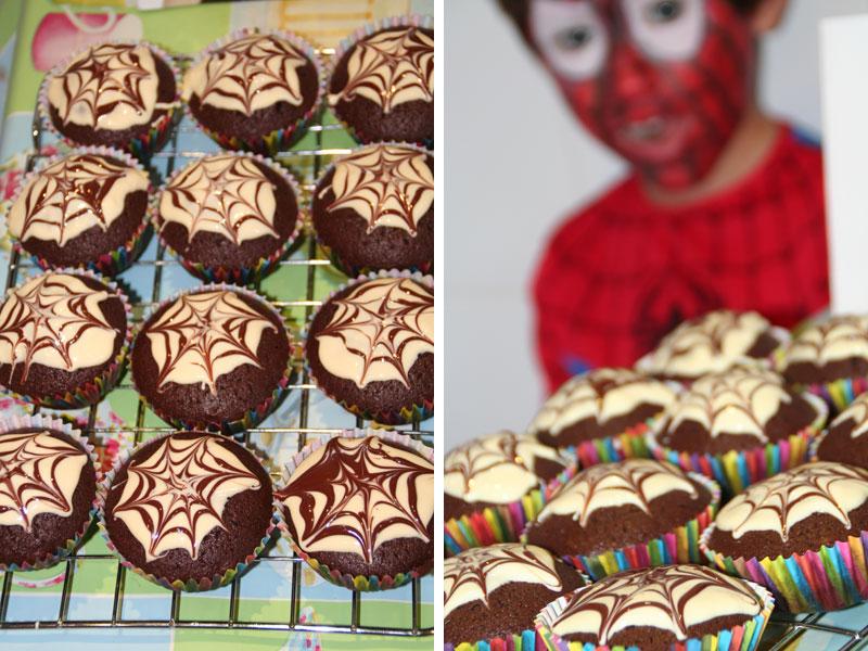 Los muffins listos para comer !!