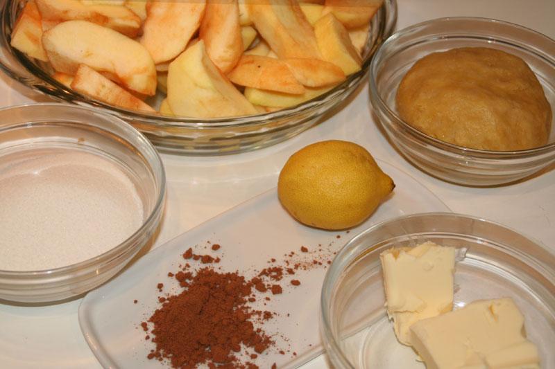 Ingredientes para tarta tatin
