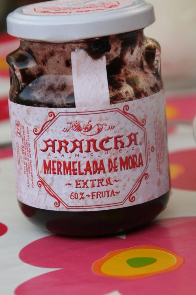 Mermelada de Moras silvestres ARANCHA
