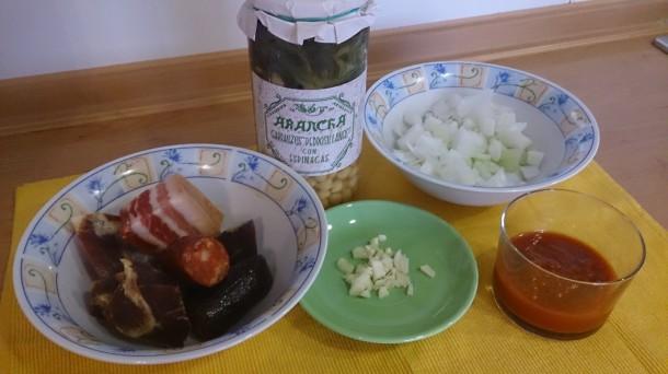 ingredientes potaje