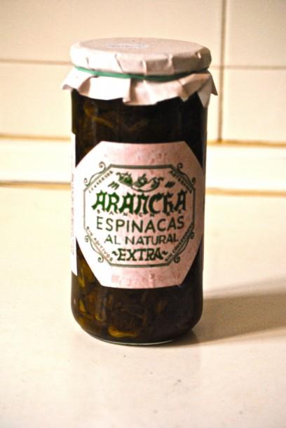 Espinacas Arancha