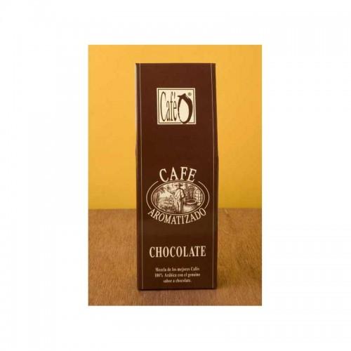 Café aromatizado con Chocolate , 125 gr.
