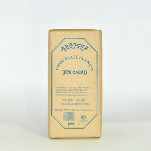Chocolate Blanco Arancha, 125 gr.