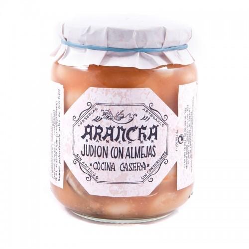 Judión con Almejas en Caldo de Marisco Arancha, 660 gr.