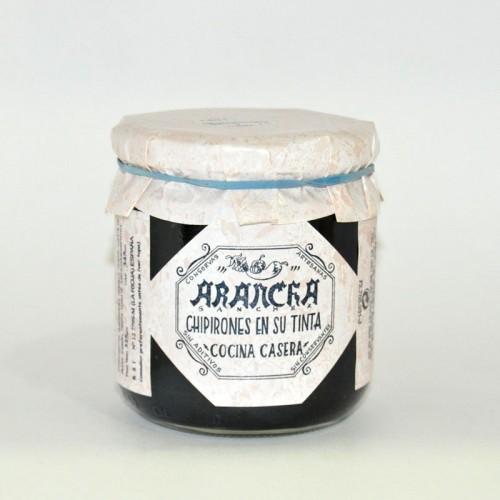Chipirones Rellenos con Huevo y Jamón Arancha, 325 gr.