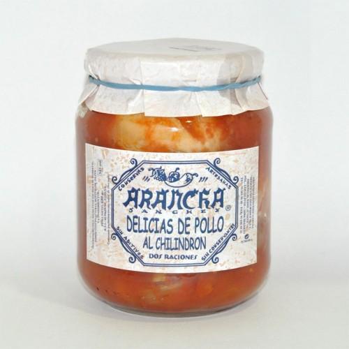 Delicias de Pollo al Chilindrón (2 Raciones) Arancha, 660 gr.