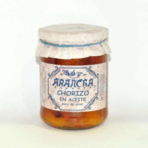 Chorizo en Aceite de Oliva Arancha, 400 gr.