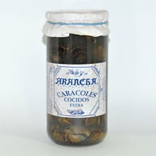 Caracoles Cocidos Extra Arancha, 660 gr.