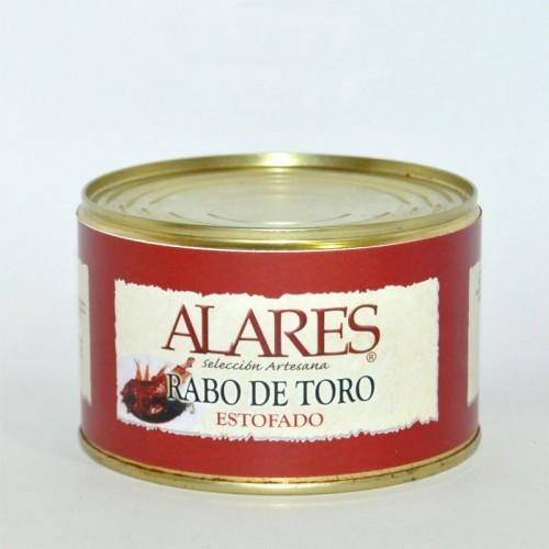 Rabo de Toro Estofado Alares, 400 gr.