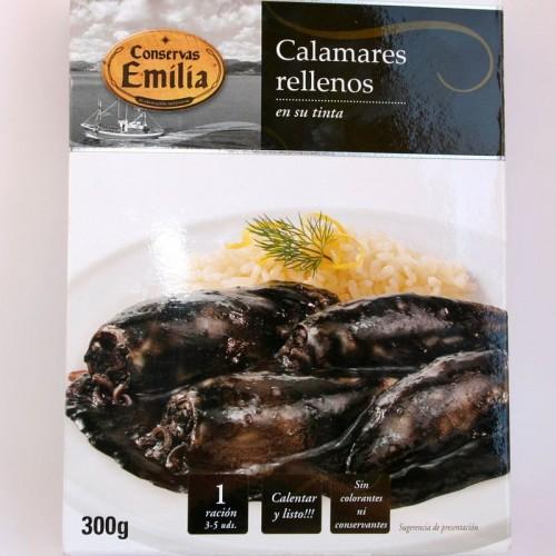 Calamares Rellenos en su tinta Emilia, 300 gr