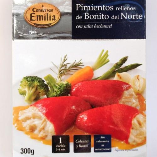 Pimientos rellenos de Bonito del Norte Emilia, 300 gr
