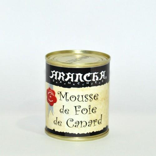 Mousse de Foie Gras de Pato Arancha, 130 gr.