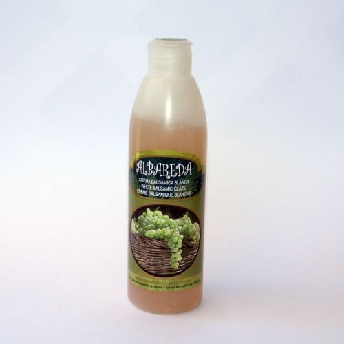 Crema Balsámica Blanca de uva Albareda , 250 ML