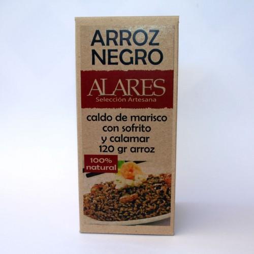 Arroz Negro ALARES Alares, 600 Gr.