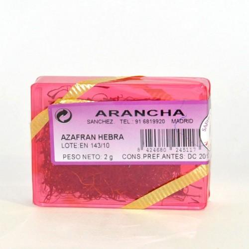 Azafrán de la Mancha 100% Hebra Arancha, 0.5 gr.