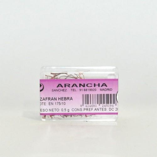 Azafrán de la Mancha 100% Hebra Arancha, 2 gr.