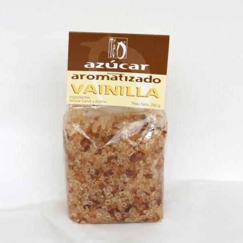 Azúcar aromatizado con Vainilla , 250 gr.