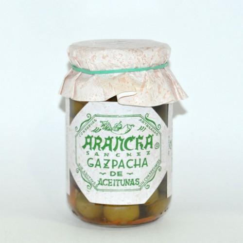 Gazpacha Aceitunas Arancha, 220 grs.