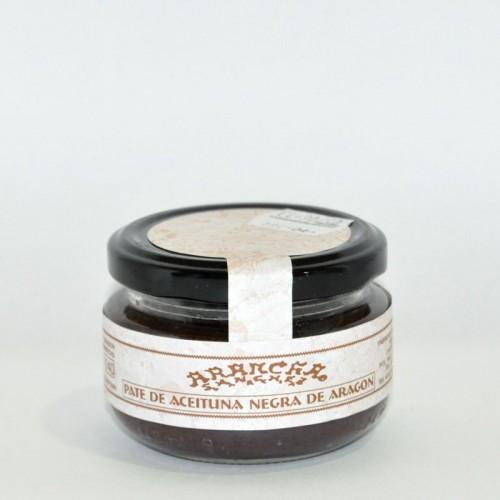 Pate de Aceitunas Negras De Aragón Arancha, 100 gr.
