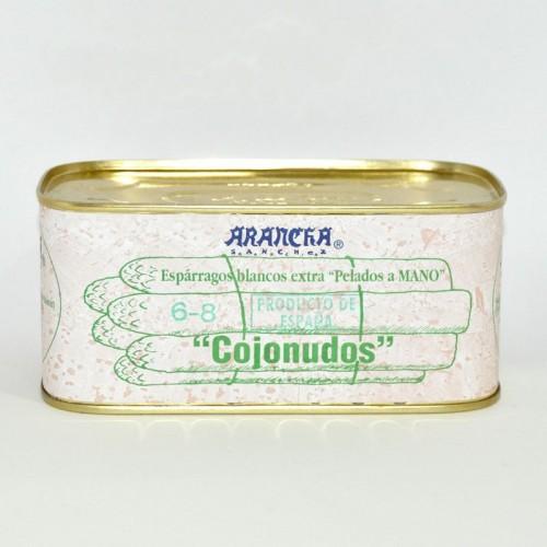 Espárragos Blancos Nacional Extra 6-8 Frutos Arancha, 1 Kg