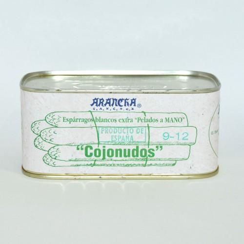 Espárragos Blancos Nacional Extra 8-12 Frutos Arancha, 1 Kg