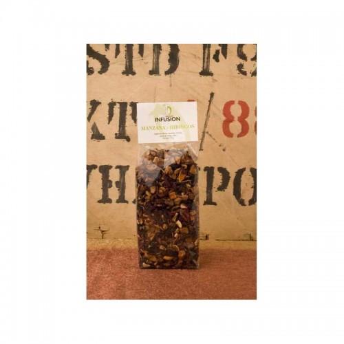 Infusión de Manzana Hibiscus , 150 gr.