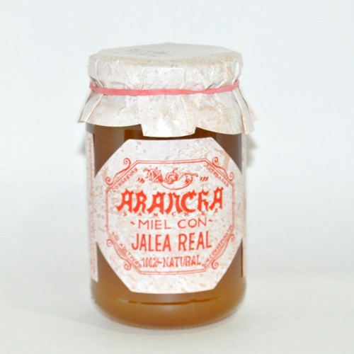 Miel con 10 gr. de Jalea Real Arancha, 500 gr.