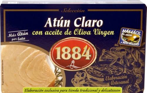 atun claro en aceite de oliva 1884