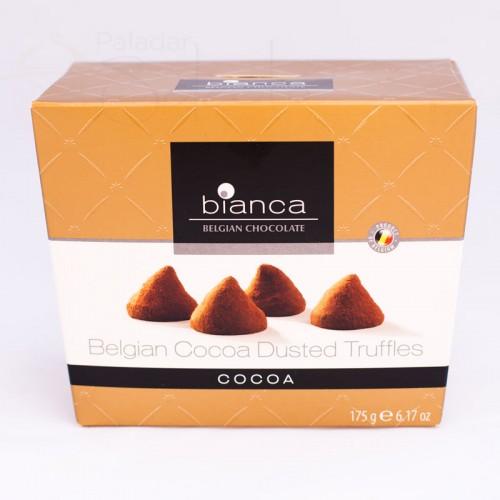 bombones trufa cacao