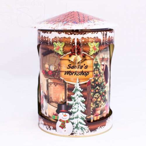 caja de galletas musical