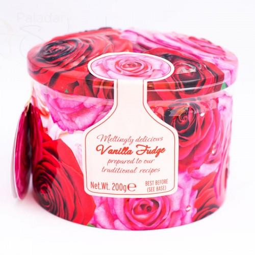 caja caramelos rosas