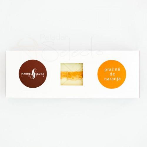 praline de naranja