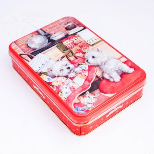 caja galletas perros y gato