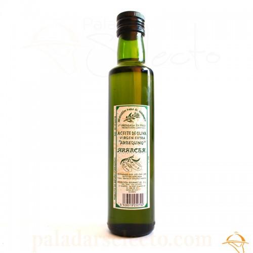 Aceite de Oliva Virgen Arbequino arancha