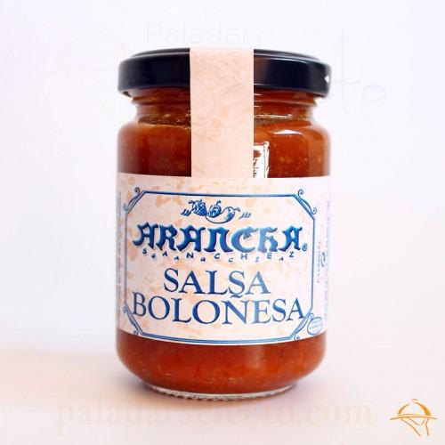salsa boloñesa Arancha